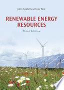 Renewable Energy Resources Book PDF