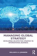 Managing Global Strategy Book