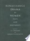 Renaissance Drama by Women