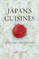 Japan's Cuisines Pdf/ePub eBook