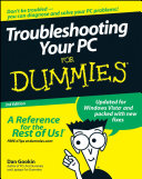 Troubleshooting Your PC For Dummies ebook