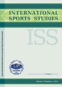 International Sports Studies Vol 35/1