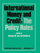 International Money And Credit Book PDF