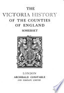 The Victoria History of the County of Somerset