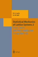 Statistical Mechanics of Lattice Systems