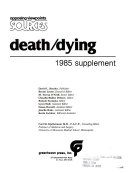Death Dying  1985 Annual