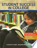 Student Success In College Doing What Works  Book PDF