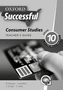 Books - Oxford Successful Consumer Studies Grade 10 Teachers Guide | ISBN 9780199055852