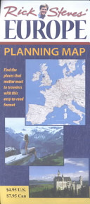 Rick Steves  Europe Planning Map