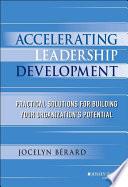 Accelerating Leadership Development Book