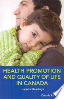 Health Promotion and Quality of Life in Canada Book