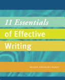 11 Essentials of Effective Writing