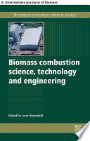 Biomass combustion science  technology and engineering Book