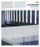 Jo Crepain  architect  73  03 Book PDF