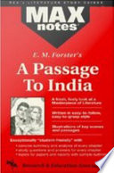 Passage To India A Maxnotes Literature Guides