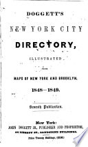 Doggett S New York City Directory For