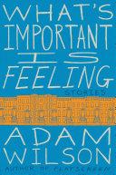 What's Important Is Feeling Pdf/ePub eBook