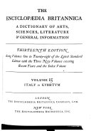 The Encyclopædia Britannica Or Dictionary Of Arts Sciences And General Literature With Extensive Improvements And Additions And Numerous Engravings [Pdf/ePub] eBook