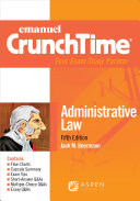 Emanuel CrunchTime for Administrative Law