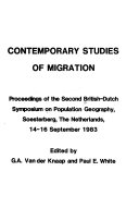 Contemporary Studies of Migration