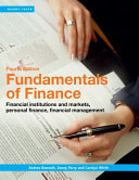 Cover of Fundamentals of Finance