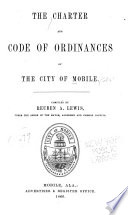 The Charter and Code of Ordinances of the City of Mobile Book