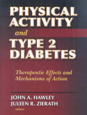 Physical Activity and Type 2 Diabetes Book