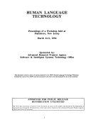 Human Language Technology