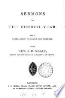 Sermons For The Church Year
