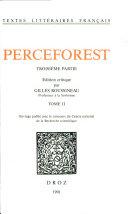 Le Roman de Perceforest. Troisieme Partie