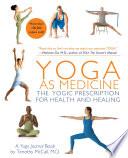 Yoga as Medicine Book