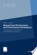 Mutual Fund Performance and Performance Persistence Book