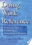 Doing The Work Of Reference Book PDF