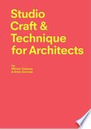 Studio Craft   Technique for Architects