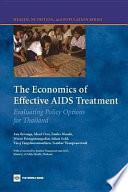 The Economics of Effective AIDS Treatment Book