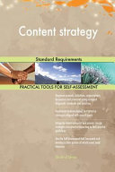 Content Strategy Standard Requirements
