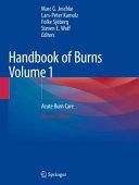 Handbook of Burns Volume 1