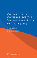 Convention on Contracts for the International Sales of Goods  CISG