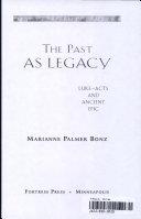 The Past as Legacy Pdf/ePub eBook