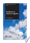 Problems in Abstract Algebra