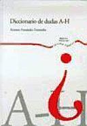Diccionario de dudas: A-H