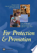 For Protection and Promotion