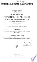 Federal Salaries and Classifications Book
