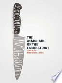 Philosophical Methodology: The Armchair or the Laboratory?
