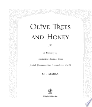 Free Download Olive Trees and Honey PDF - Writers Club