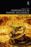Pdf Warranties in Marine Insurance Telecharger