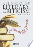 History of Literary Criticism