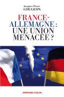 Pdf France-Allemagne : une union menacée ? Telecharger