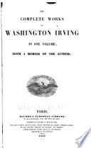 The Complete Works of Washington Irving in One Volume
