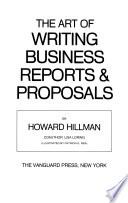 The Art of Writing Business Reports & Proposals